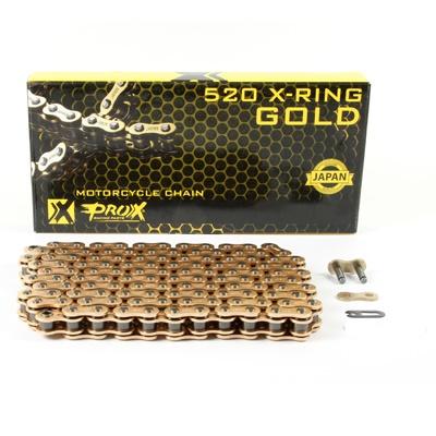 Lant transmisie 520 Prox motocross auriu