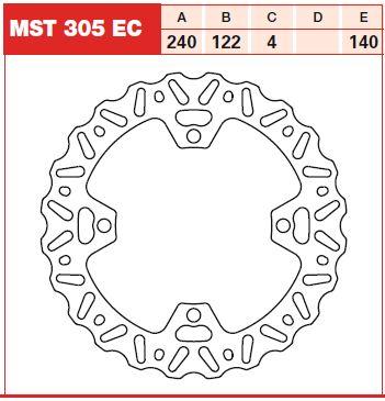 Disc frana fata Suzuki RM-Z 250, RM-Z 450 07-