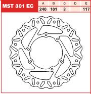 Disc frana fata Honda CR 95-, CRF 02-