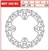 Disc frana spate Kawasaki KX, KX-F, KLX125, 250, 450 03