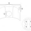 Piston Prox Honda CRF 250 R 04-09, CRF 250 X 04-17 compresie 13.5:1