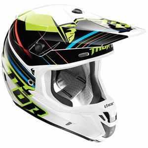 Casca moto Thor Verge Stack Green L