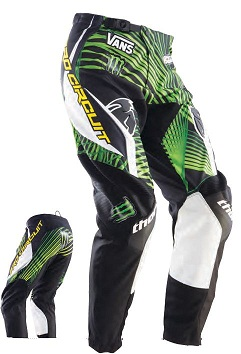 Pantaloni motocross Thor Phase Pro Circuit Monster Energy