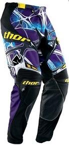 Pantaloni motocross Thor Core Scorpion Purple
